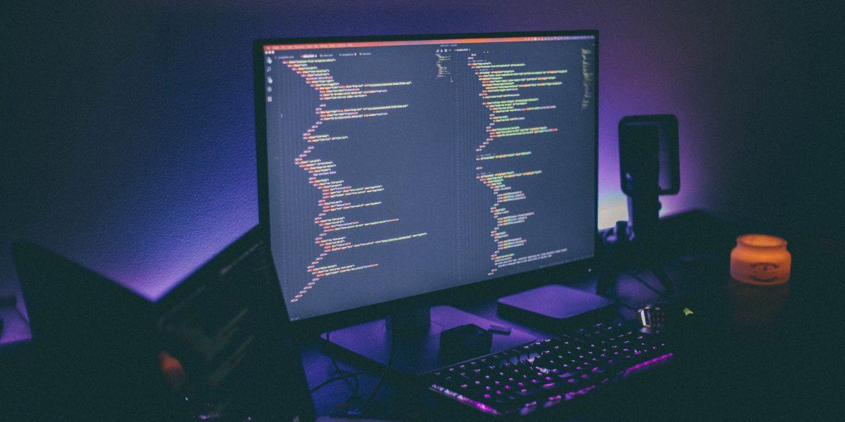 Ordinateur avec logiciel de programmation